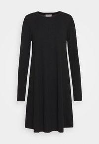 DRESS - Jumper dress - black