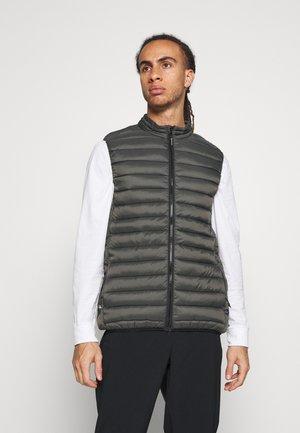 BALAN - Waistcoat - pine grey