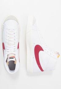 Nike Sportswear - BLAZER MID '77 UNISEX - High-top trainers - white/worn brick/sail - 2