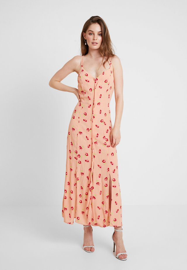 THEA DRESS - Maxikjole - rose