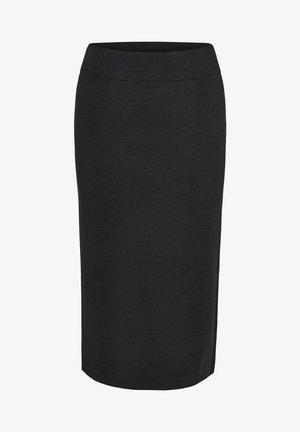 RONKA - Pencil skirt - schwarz