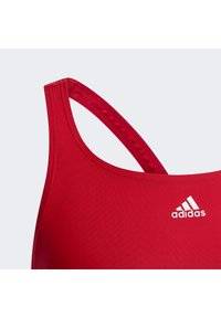 adidas Performance - ATHLY V -STRIPES SWIMSUIT - Swimsuit - red - 4