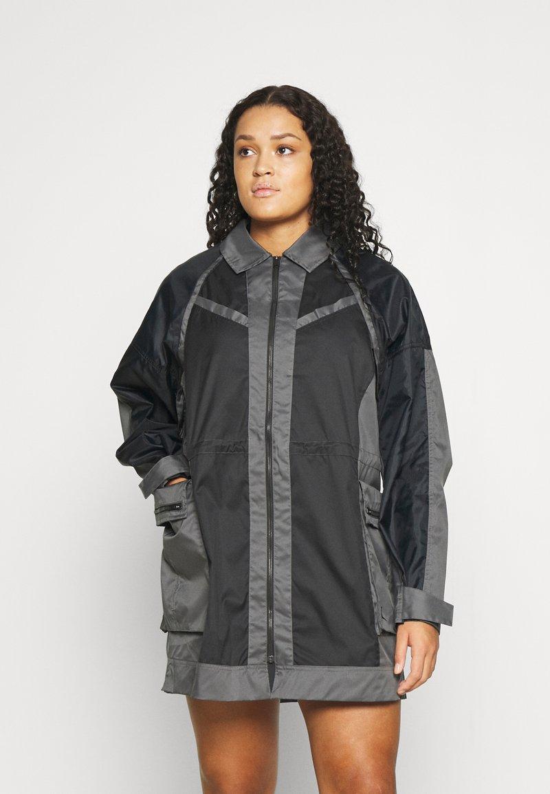 Jordan - NEXT UTILITY JACKET - Short coat - black/iron grey/black