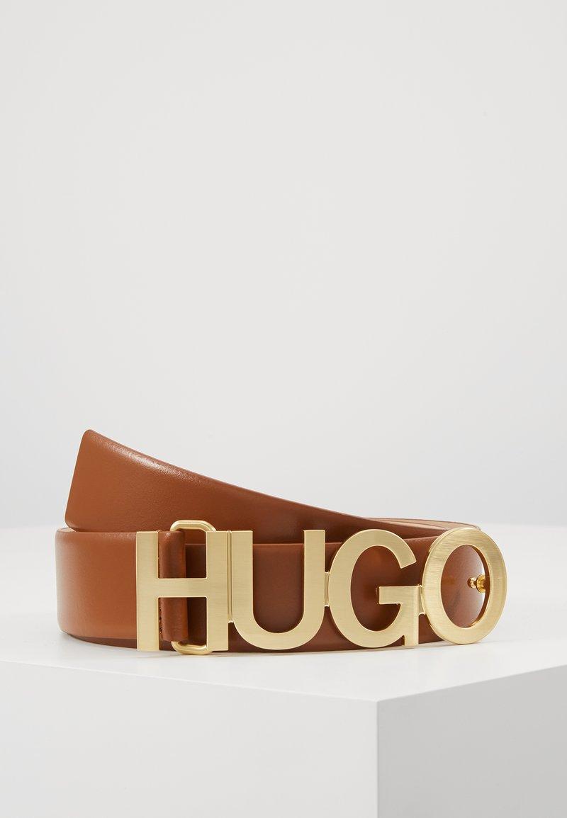 HUGO - ZULA BELT  - Pásek - rust copper