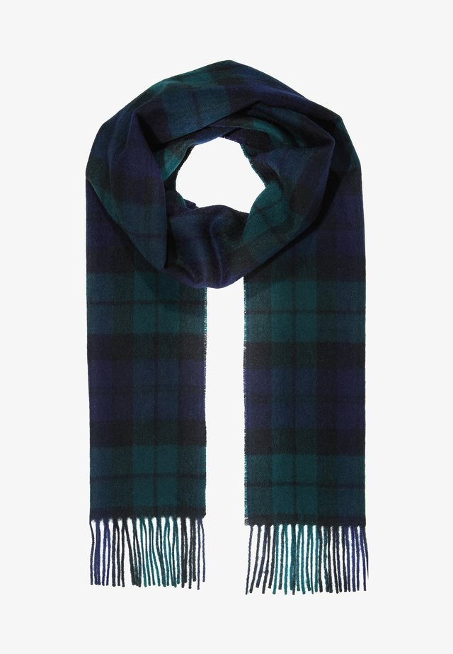 NEW CHECK TARTAN SCARF - Šála - navy