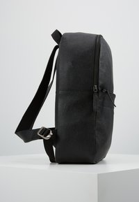 Pier One - LEATHER - Rucksack - black - 3
