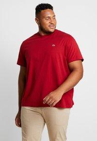 Lacoste - T-shirt basic - alizarine - 0