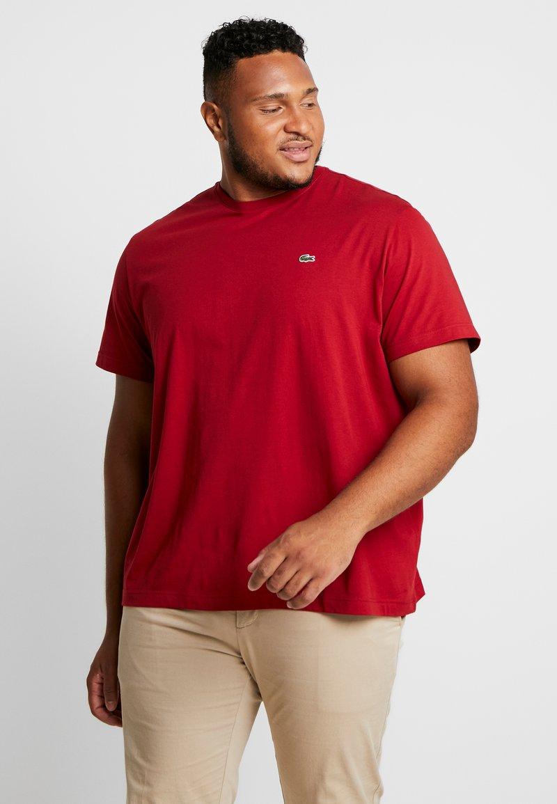 Lacoste - T-shirt basic - alizarine