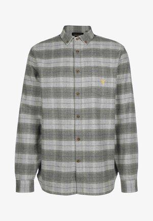 Shirt - mid grey marl/ light grey marl