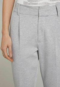 Oui - Trousers - light grey - 4