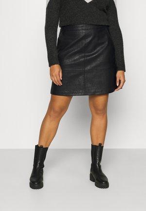 CARLISA SKIRT - A-lijn rok - black
