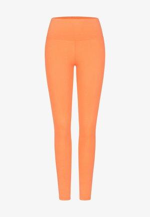 Leggings - Trousers - pale orange