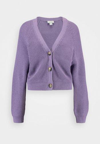 Cardigan - lilac purple medium