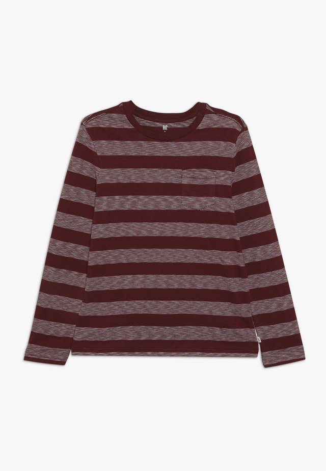 BOY TEE - Long sleeved top - red delicious
