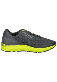 Under Armour - Trainers - pitch gray / green citrine / mechanic blue - 6
