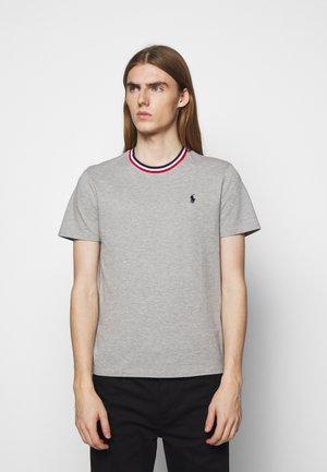 T-shirt - bas - andover heather