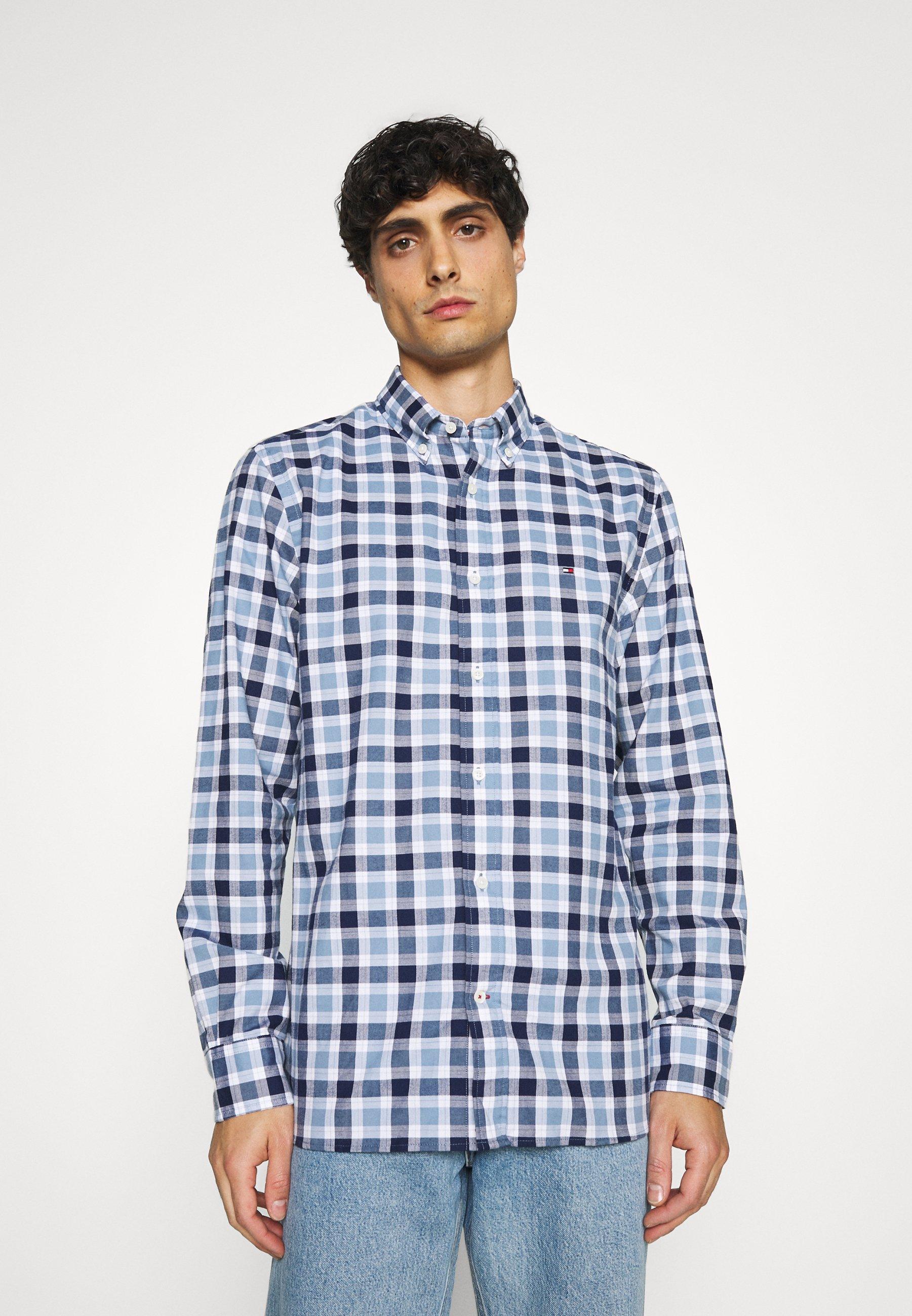 Men TRAVEL OXFORD CHECK - Shirt