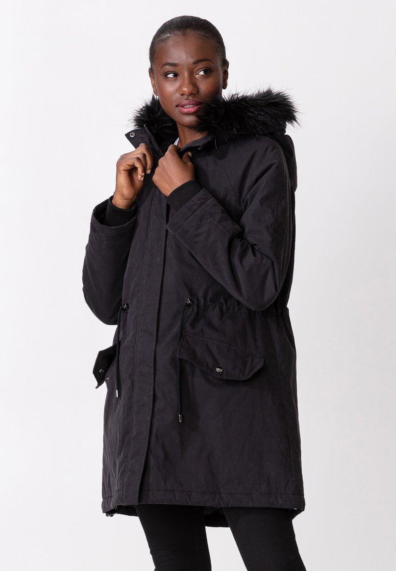 Indiska - KELLYANNE - Down coat - black