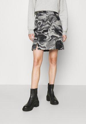 BELLA SKIRT - Mini skirts  - grey mix
