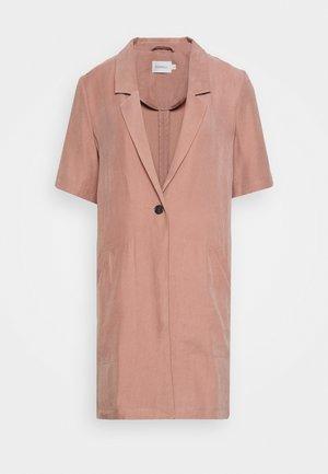 JARCY - Short coat - brownie