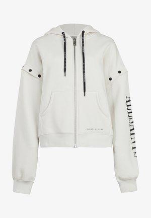AMPHIA CHLO - veste en sweat zippée - white