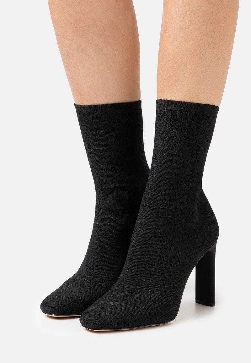 ALDO - DELYLAH - High heeled ankle boots - black