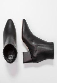 HUGO - UPTOWN BOOTIE - Ankelstøvler - black - 3