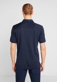 adidas Golf - HEAT RDY STRIPE - Funkční triko - collegiate navy/night navy - 2