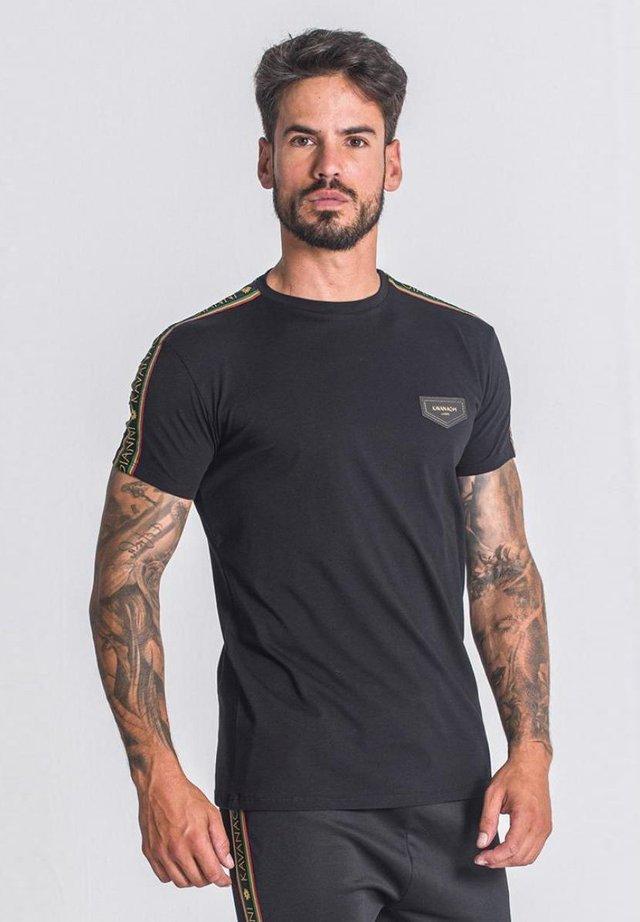 T-shirt imprimé - black