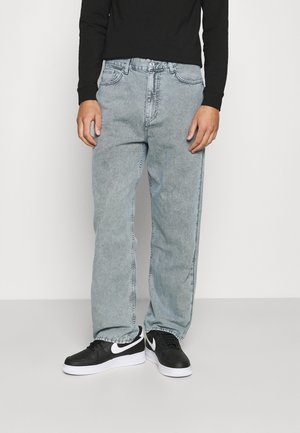 GALAXY OVERDYE TROUSERS - Relaxed fit jeans - greyish blue