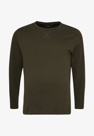 69PRAGUE - Long sleeved top - black/khaki