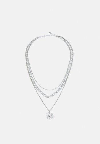 PCPRIMA NECKLACE - Ketting - silver coloured