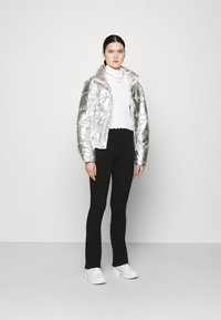 Gina Tricot - MY PUFFER JACKET - Winter jacket - silver - 1
