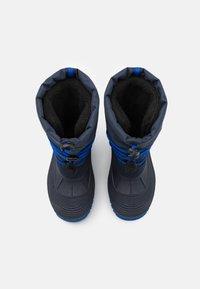 CMP - AHTO WP UNISEX - Winter boots - black blue/royal - 3