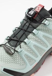 Salomon - XA PRO 3D - Scarpe da trail running - aqua gray/urban chic/tropical peach - 5
