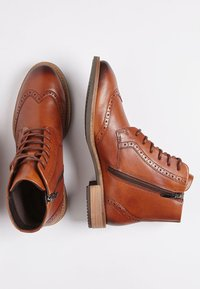 ECCO - SARTORELLE TAILORED - Lace-up ankle boots - honey - 1