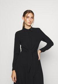 Lauren Ralph Lauren - TRIPLE GEORGETTE DRESS - Day dress - polo black - 3
