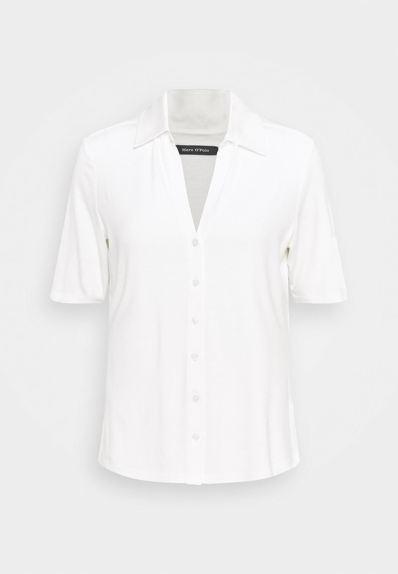 Marc O'Polo - SHORT SLEEVE  - Button-down blouse - paper white
