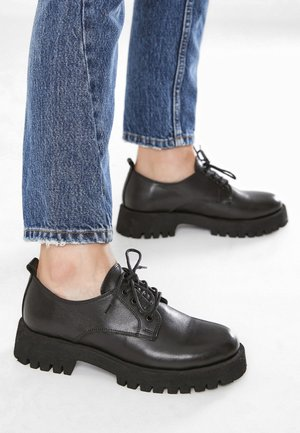 Lace-ups - black blk