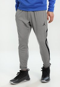 Jordan - ALPHA DRY PANT - Træningsbukser - carbon heather/black - 0