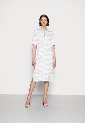 ICON POLO MIDI DRESS - Vestito estivo - white