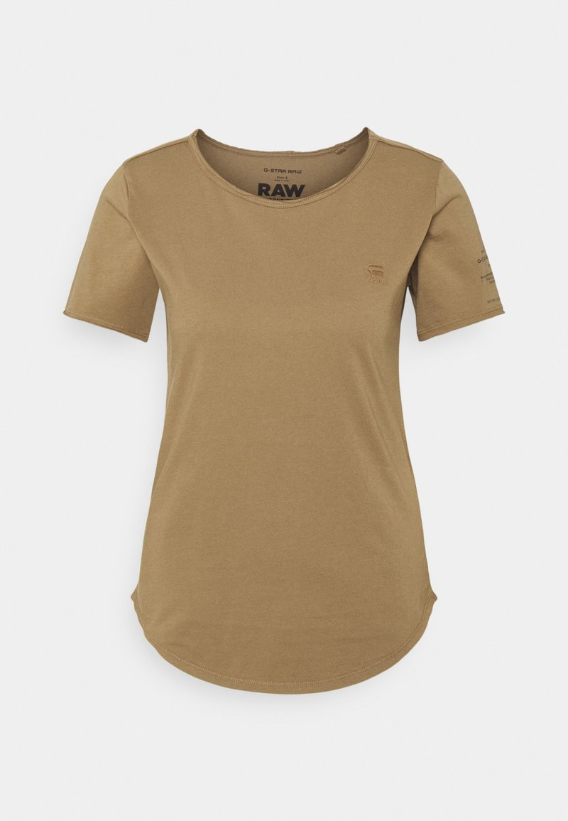 G-Star - MYSID OPTION SLIM - Print T-shirt - safari