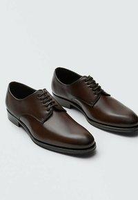 Massimo Dutti - Smart lace-ups - brown - 5