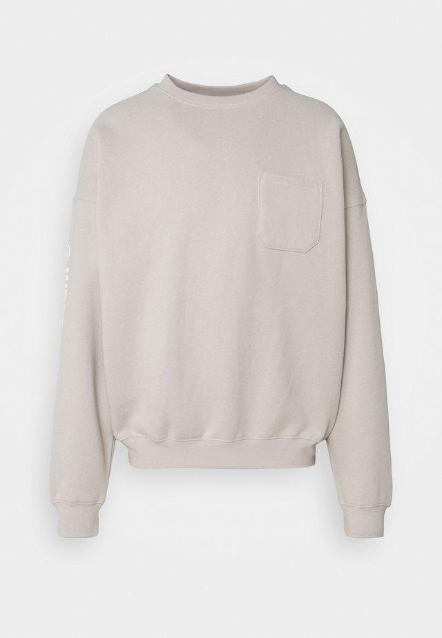 UNISEX COLIS - Sweatshirts - taupe