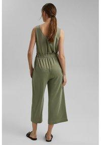 Esprit - CULOTTE - Trousers - light khaki - 3