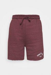 Missguided - MSGD SPORTS RAW HEM - Shorts - burgundy - 3