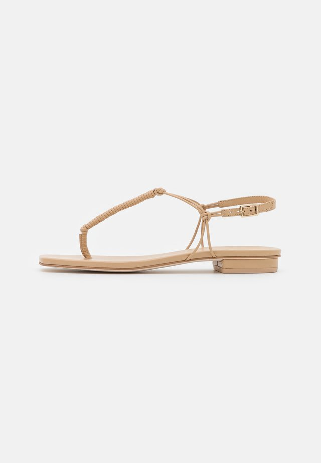DANI - T-bar sandals - sand