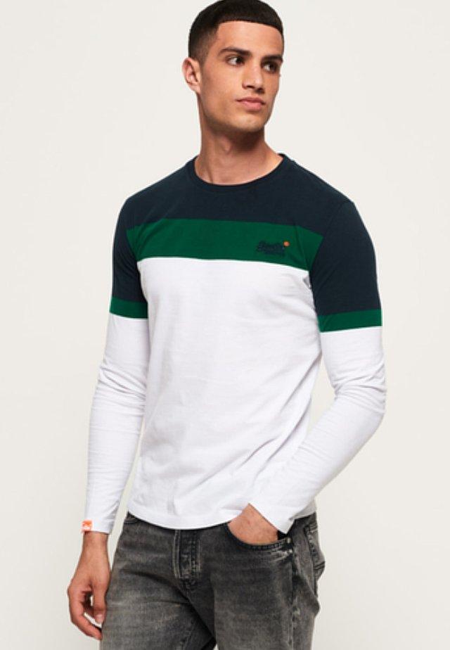 ORANGE LABEL - T-shirt à manches longues - optic