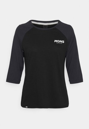 TARN FREERIDE RAGLAN 3/4 - Long sleeved top - black