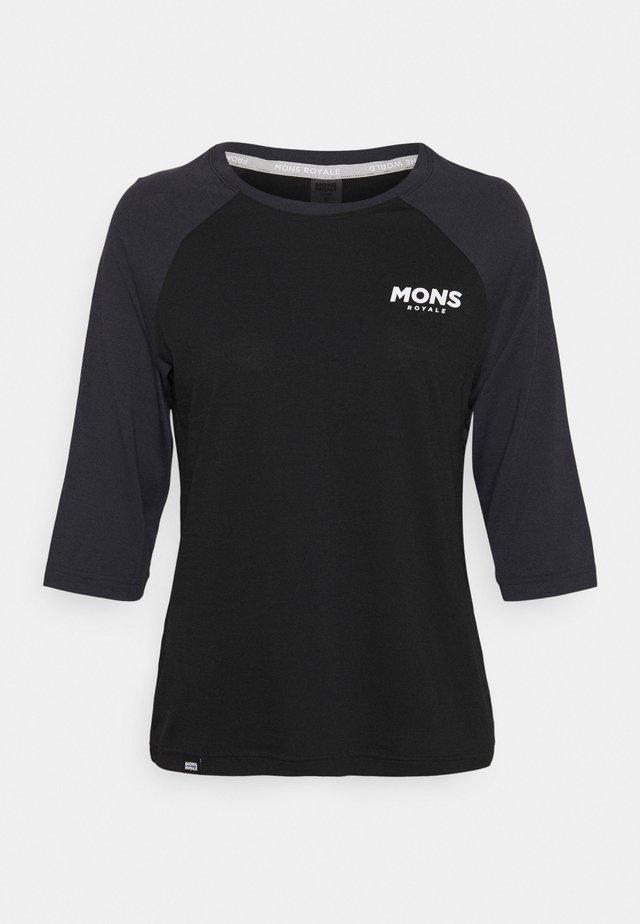 TARN FREERIDE RAGLAN 3/4 - Långärmad tröja - black